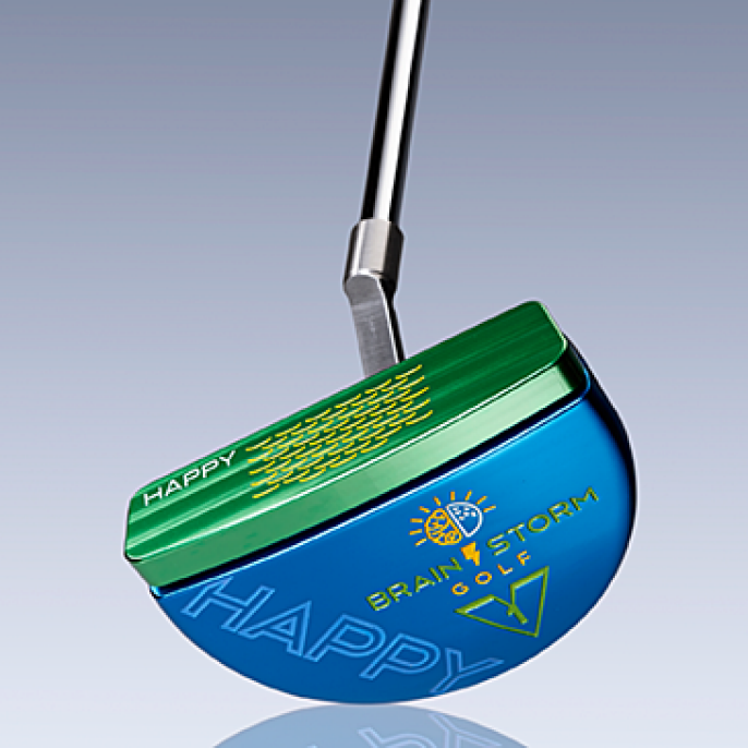 Brainstorm Golf Happy Putter