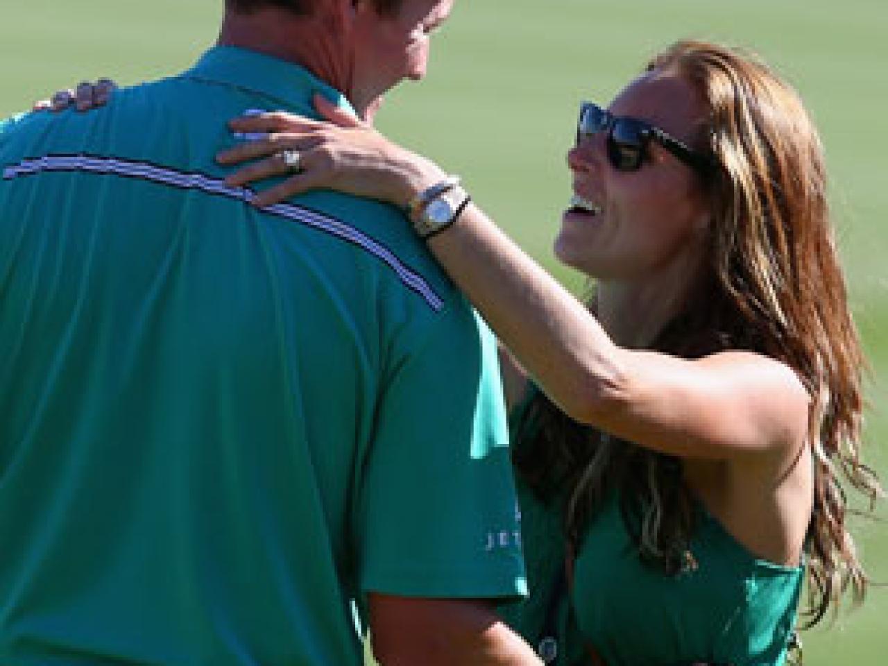 PGA Pro Jimmy Walkers wife Erin - TickTracker App