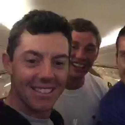 Celebrating in style: A recap of Rory McIlroy's first Periscope in photos after winning at Quail Hollow