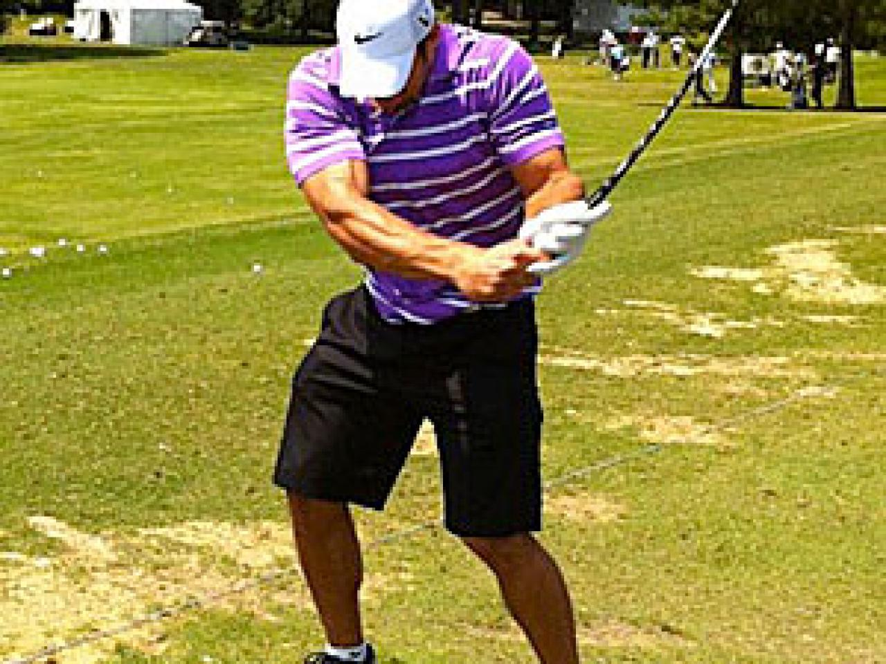 Golf club flex swing speed