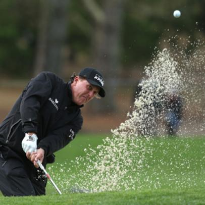 Mickelson remains steady -- and in contention -- at windy Pebble