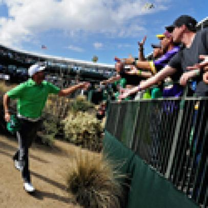 2014 Waste Management Phoenix Open sets all-time attendance record