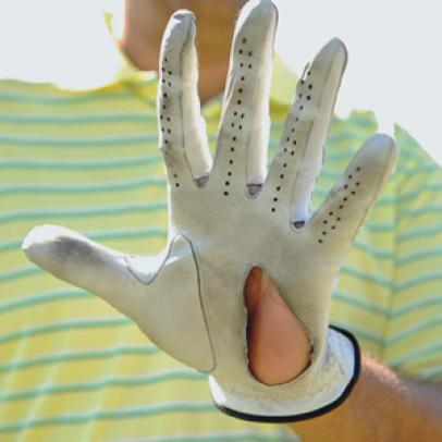 Fitness Friday: Does your golf glove look like this?