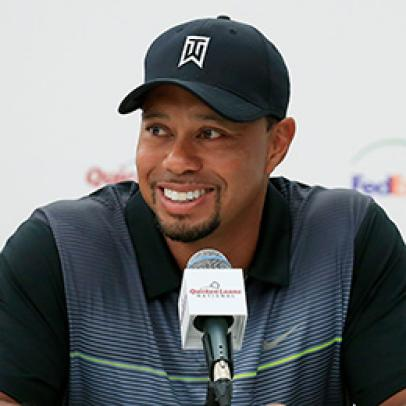 He might not be at full strength, but Tiger Woods says he's ready to play again