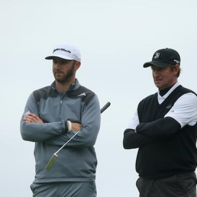 Dustin Johnson to Wayne Gretzky: 'It's going to make me a better person…and a better golfer'