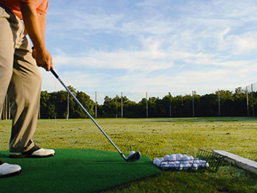 The day you hit it best on the range will be the day you chop it up miserably.