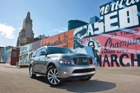 Long Drives: Chicago To Kansas City In An Infiniti QX56