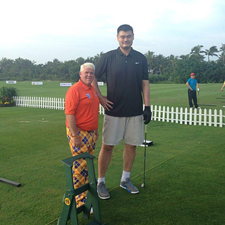 Long John meets Tall Yao
