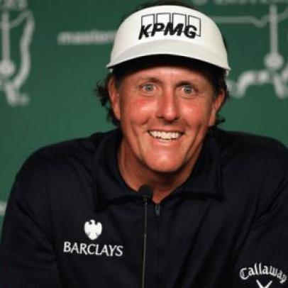 Phil Mickelson adds new irons, golf ball at Masters