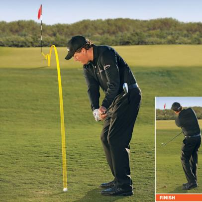 Phil Mickelson: How To Hit 2 Basic Pitches and Chips