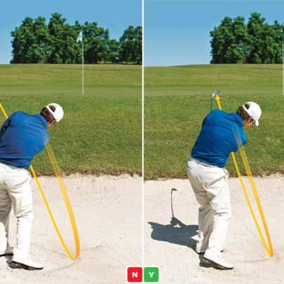 Fault Fix: Don't Overdo an Out-To-In Swing Path