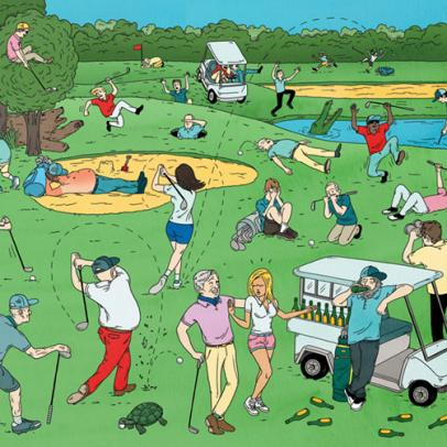 The 36 Most Common Mistakes in Golf