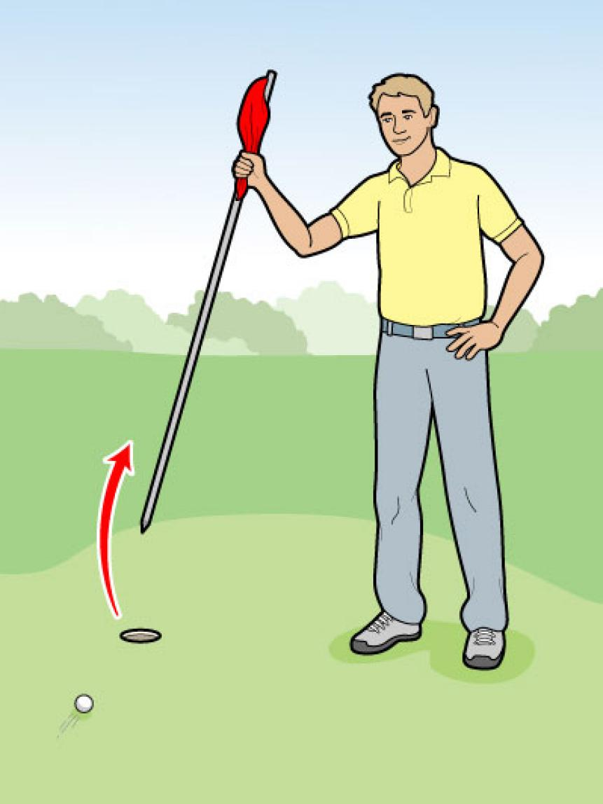 How To Tend The Flagstick
