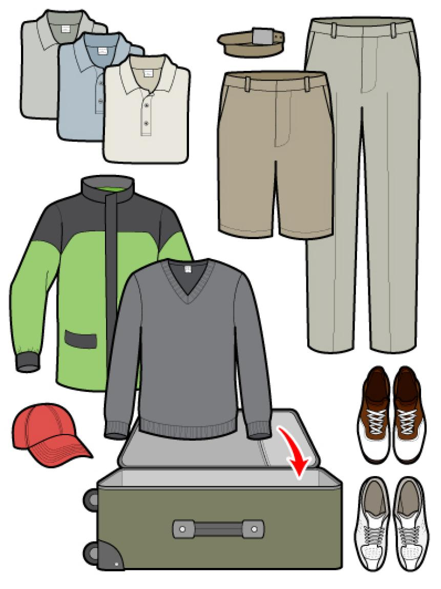 How To Pack For A Golf Trip