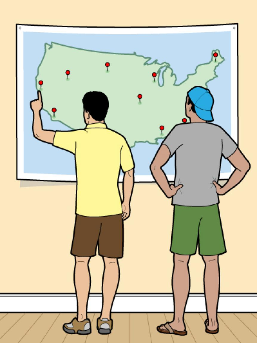 How To Pick A Buddies Trip Destination