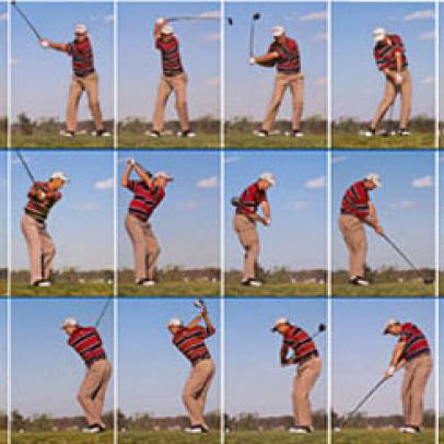 Swing sequence: Padraig Harrington