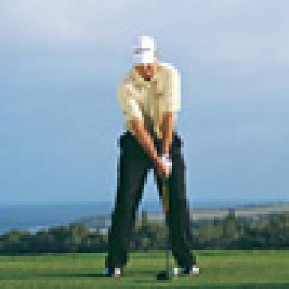 Driver Swing Sequence: Kenny Perry
