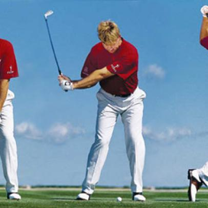 Swing sequence: Ernie Els