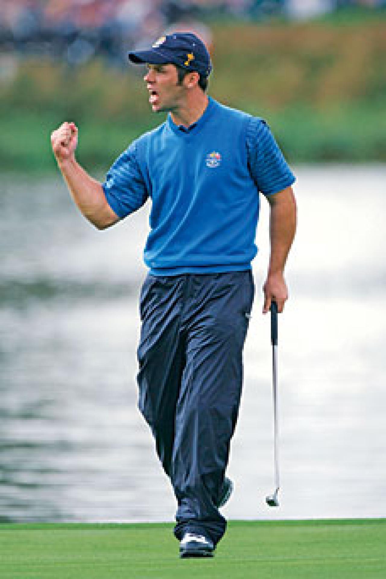 Mediate girlfriend rocco Pro golfer
