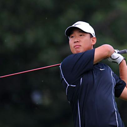 Anthony Kim Is On Fire