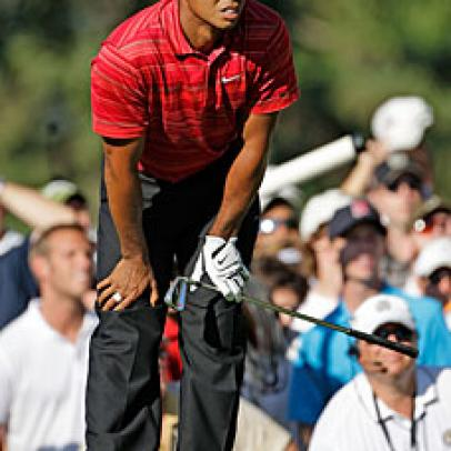 Tiger Woods and the One That Got Away