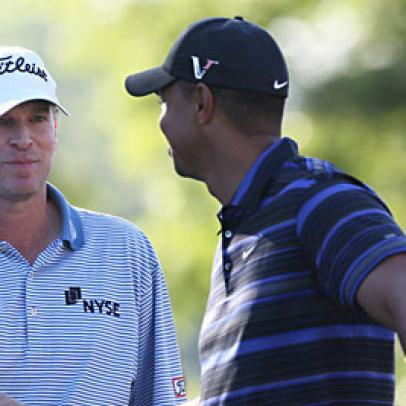 Stricker And Furyk Share Lead