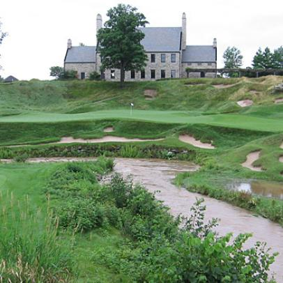 Whistling Straits Softened By Rain