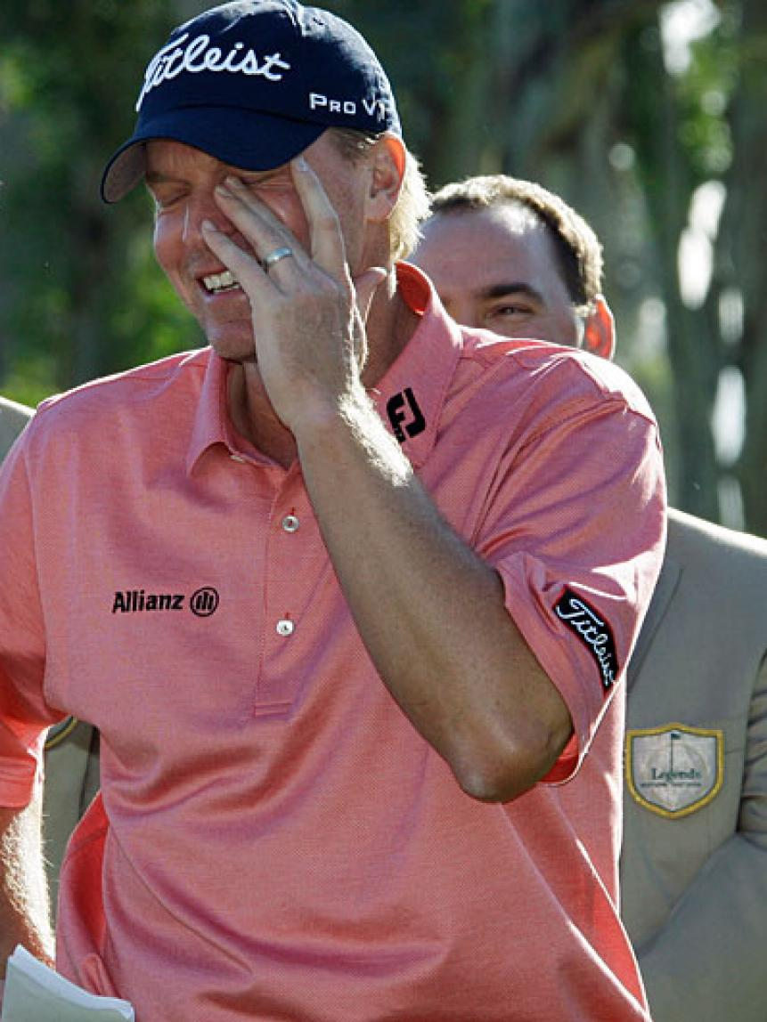Best Performance In A Crying Scene:  Steve Stricker