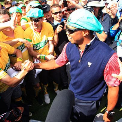 Final Say: Thousands Of Miles From Home, Tiger Gets A Significant Welcome