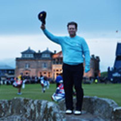 Tom Watson at The Open