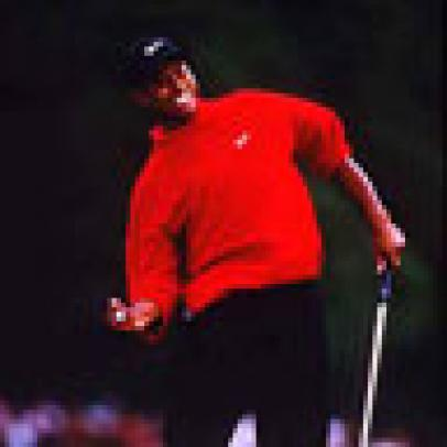 Tiger's First Victory At Augusta:  1997 Masters