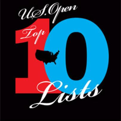 Top 10 U.S. Open Lists