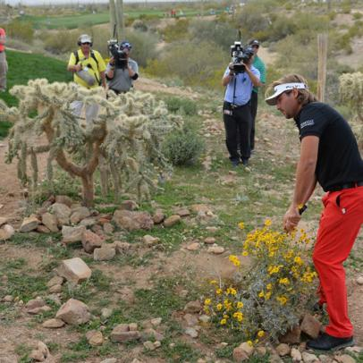 Victor Dubuisson And The Greenside Greats