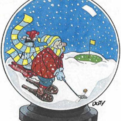 The bracing joys of winter golf