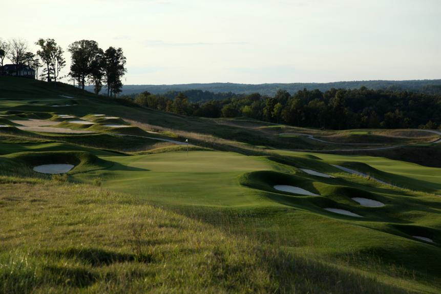 THE PETE DYE CSE. AT FRENCH LICK (Ind.) RESORT