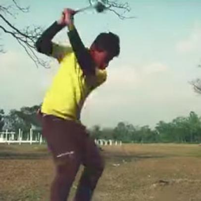 "Stop what you're doing and watch ""Tiger Woods of Bengal"""