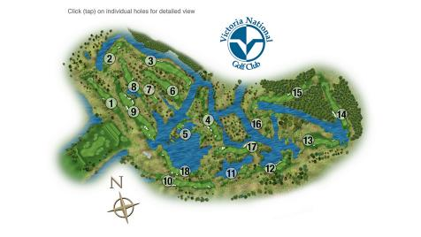 Victoria National Golf Club: Course Tour
