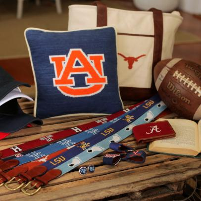An untraditional -- but cool -- way to show your college spirit