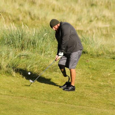 Photos: Injured U.S. Veterans' Golf Trip To Ireland