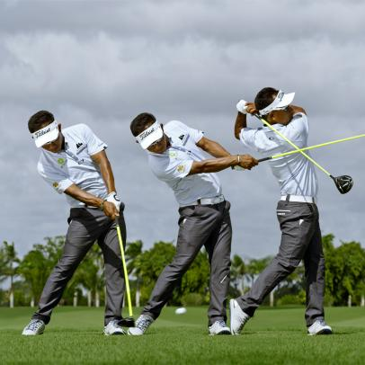Swing Sequence: Thongchai Jaidee