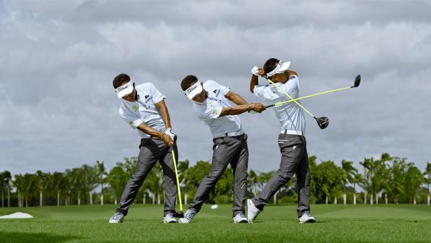 لعبة golfing over it