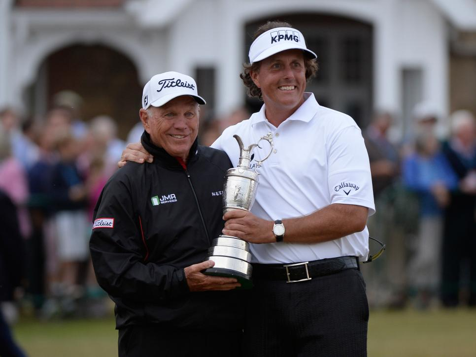 phil-mickelson-butch-harmon-british-open-claret-jug-muirfield-2013.jpg