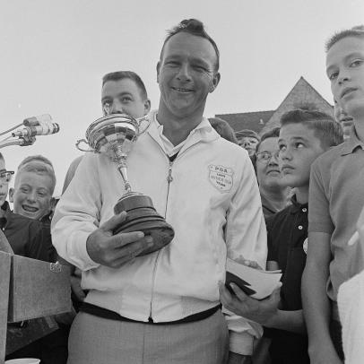 Arnold Palmer was bold and boastful as the last playing captain in the Ryder Cup