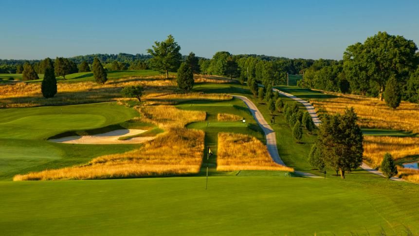 THE DONALD ROSS CSE. AT FRENCH LICK (Ind.) RESORT