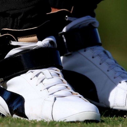 Rickie Fowler discusses his high-top shoes and pants he debuted at Kapalua