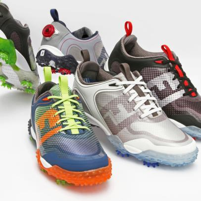 FootJoy Freestyle shoes continue to push the lightweight trend in golf footwear