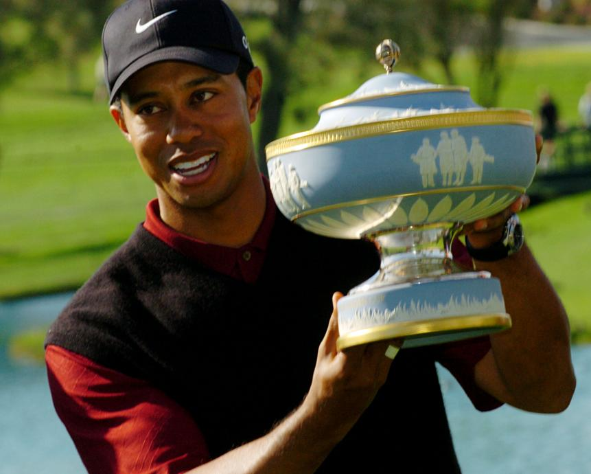 Tiger goes back-to-back (2004)