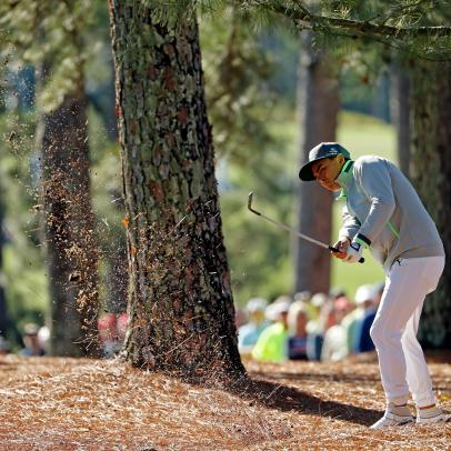 Rickie Fowler sounded shell-shocked following first round at the Masters