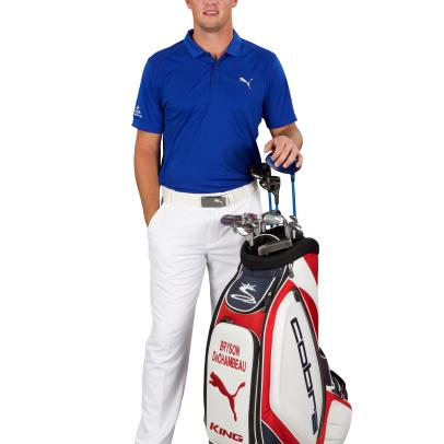 DeChambeau goes pro with Cobra-Puma clubs, apparel