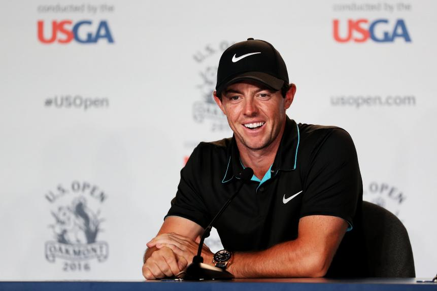 Big Stick Will Stay In Rory's Bag